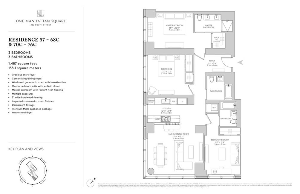 252 South Street #76C floor plan