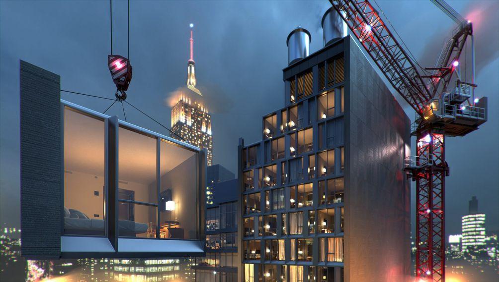 842 Sixth Avenue tallest modular new rendering