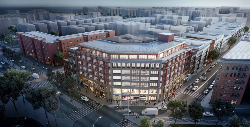 Marin Architects Draws Up Commercial Building for former Woolworth's
