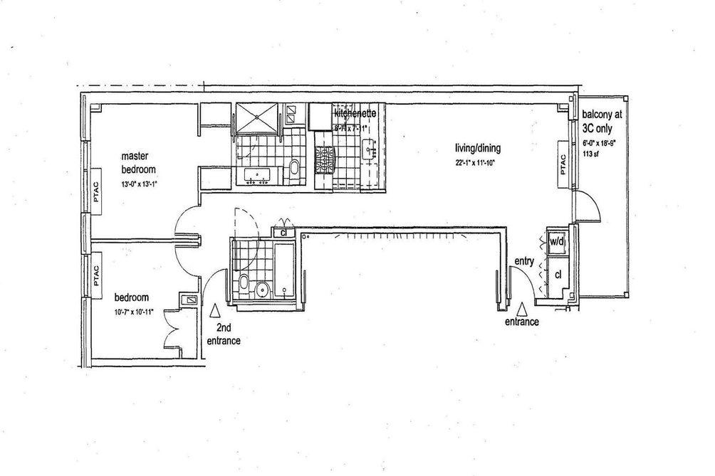 72 Steuben Street #3C floor plan