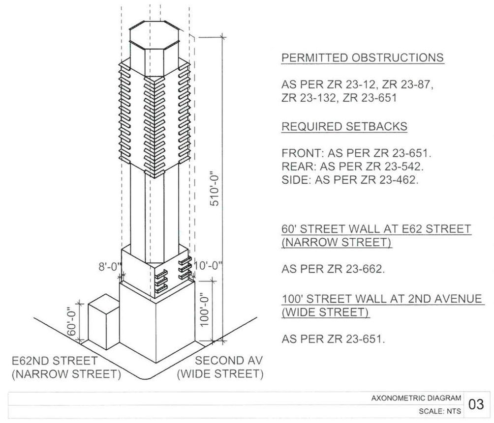 249 East 62nd Street plans