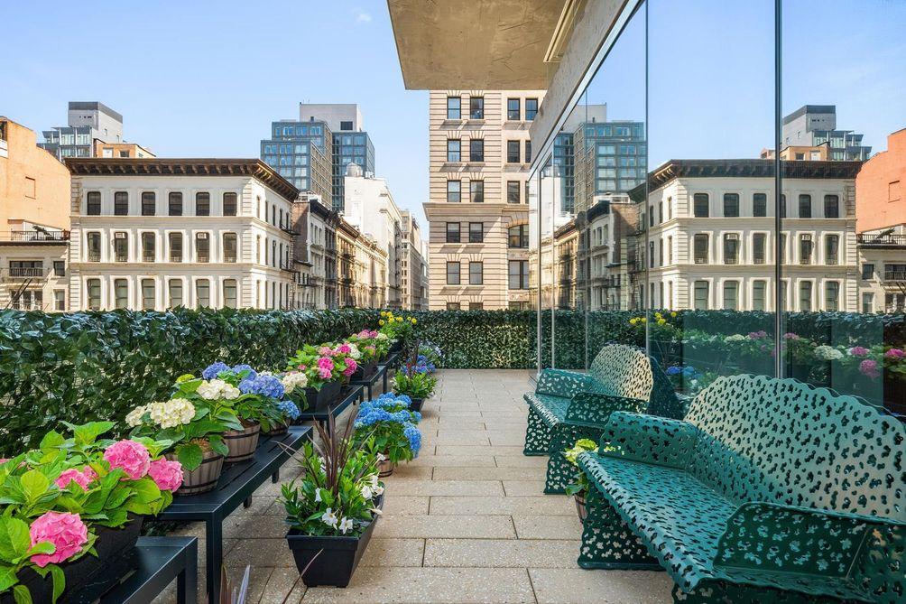 56 Leonard Street terrace