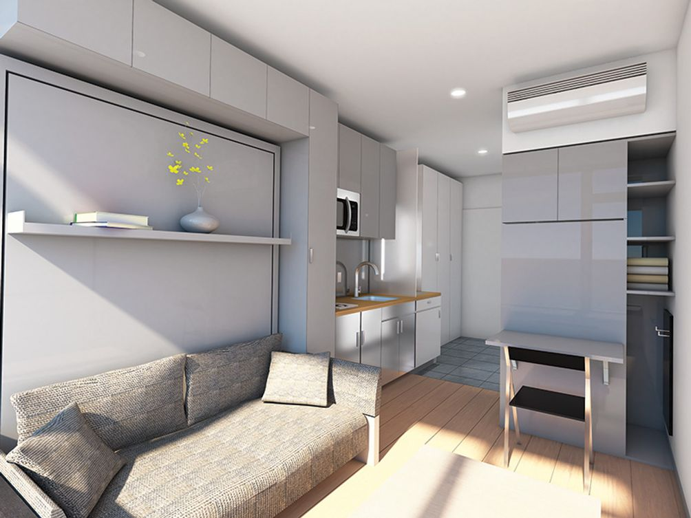 Jersey City's Nest Micro Apartments to Launch in Summer ...