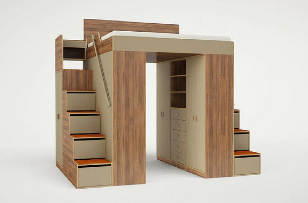 Casa Collection's lofted bed unit design