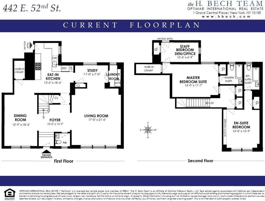 444 East 52nd Street #MAISONETTE floor plan
