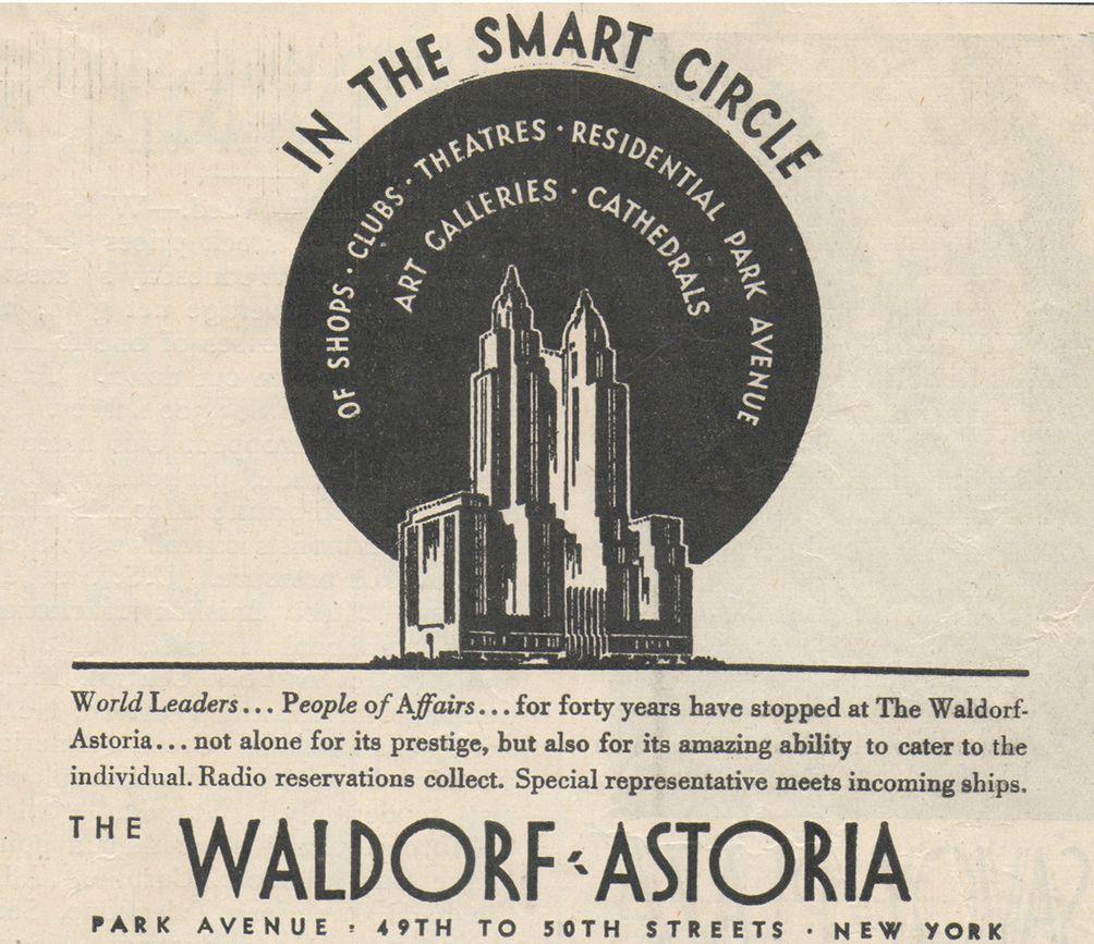 Waldorf-Astoria Hotel, Wikipedia