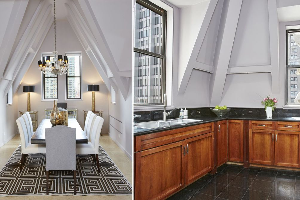 Liberty Tower dining/kitchen