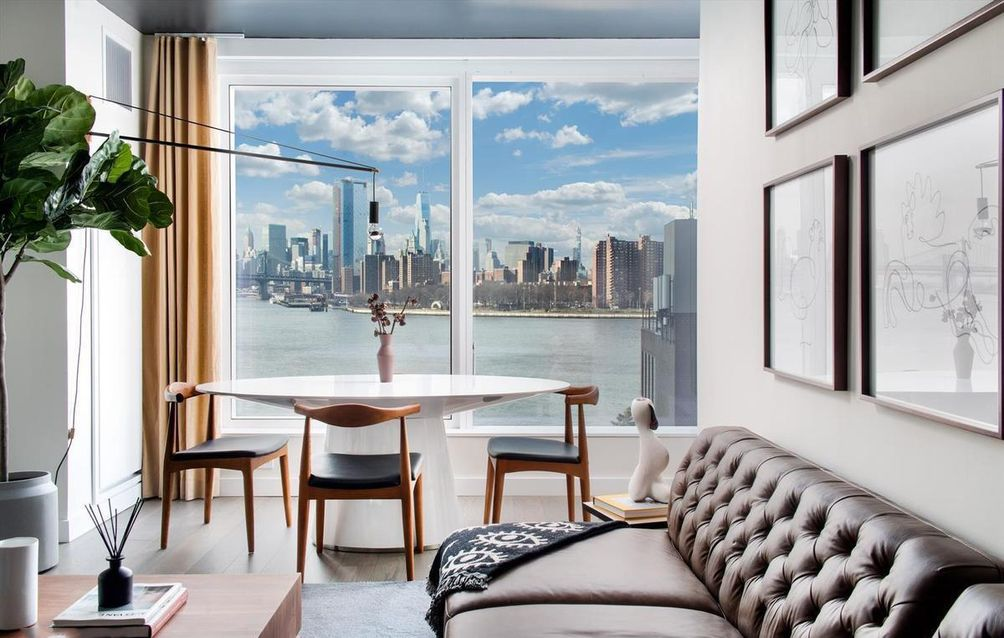 Look Inside the Williamsburg Waterfront Rentals at 420 Kent, Now