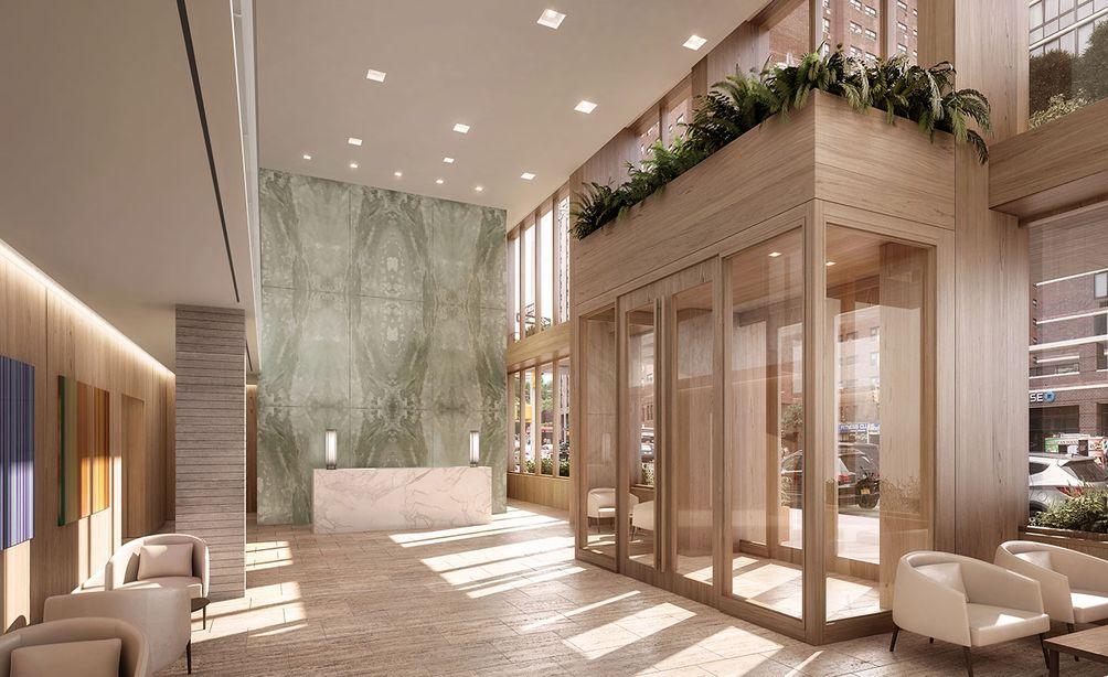 Inspir Carnegie Hill lobby