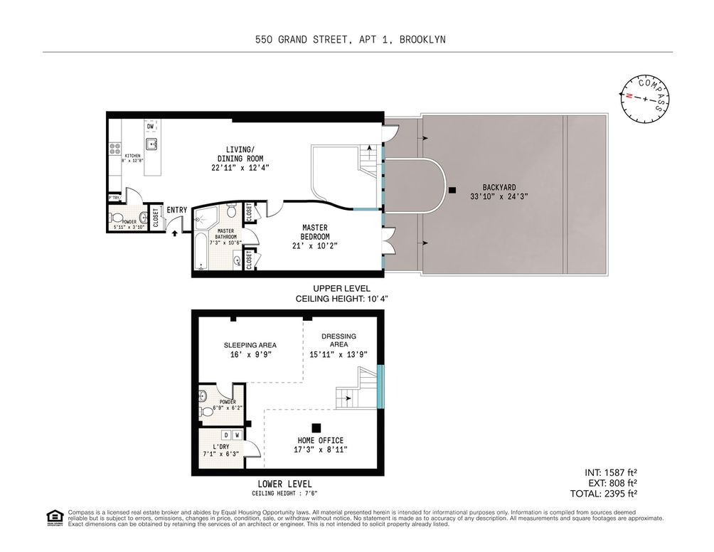550 Grand Street #1 floor plan