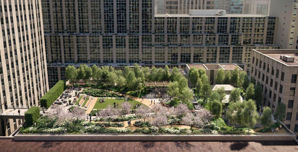 Radio City Rooftop Garden