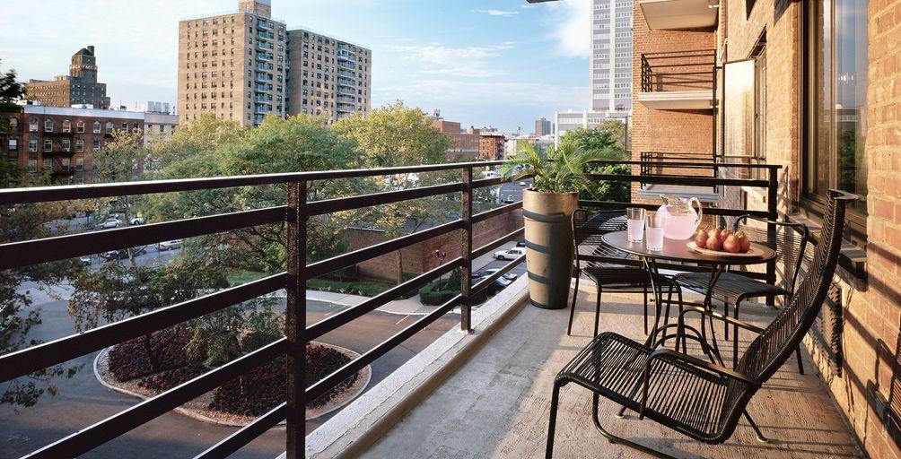 Lenox Terrace balcony