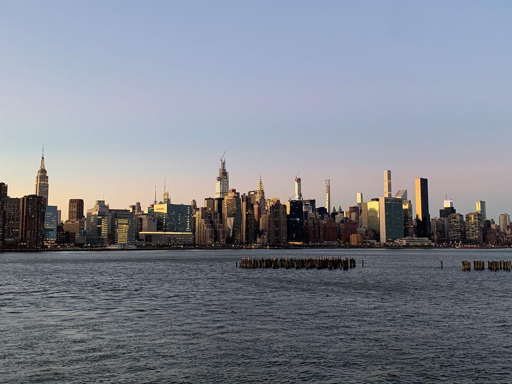 Midtown skyline New York City