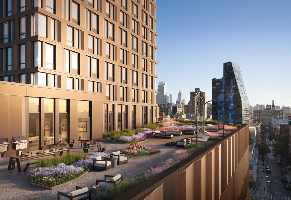 The Essex at 125 Delancey Street in Essex Crossing on the Lower East Side