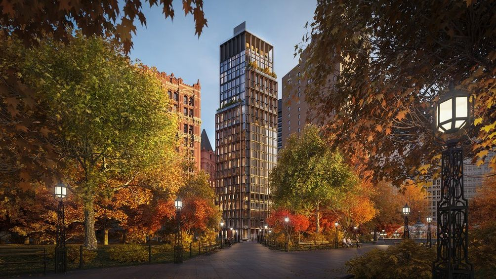 one beekman new rendering