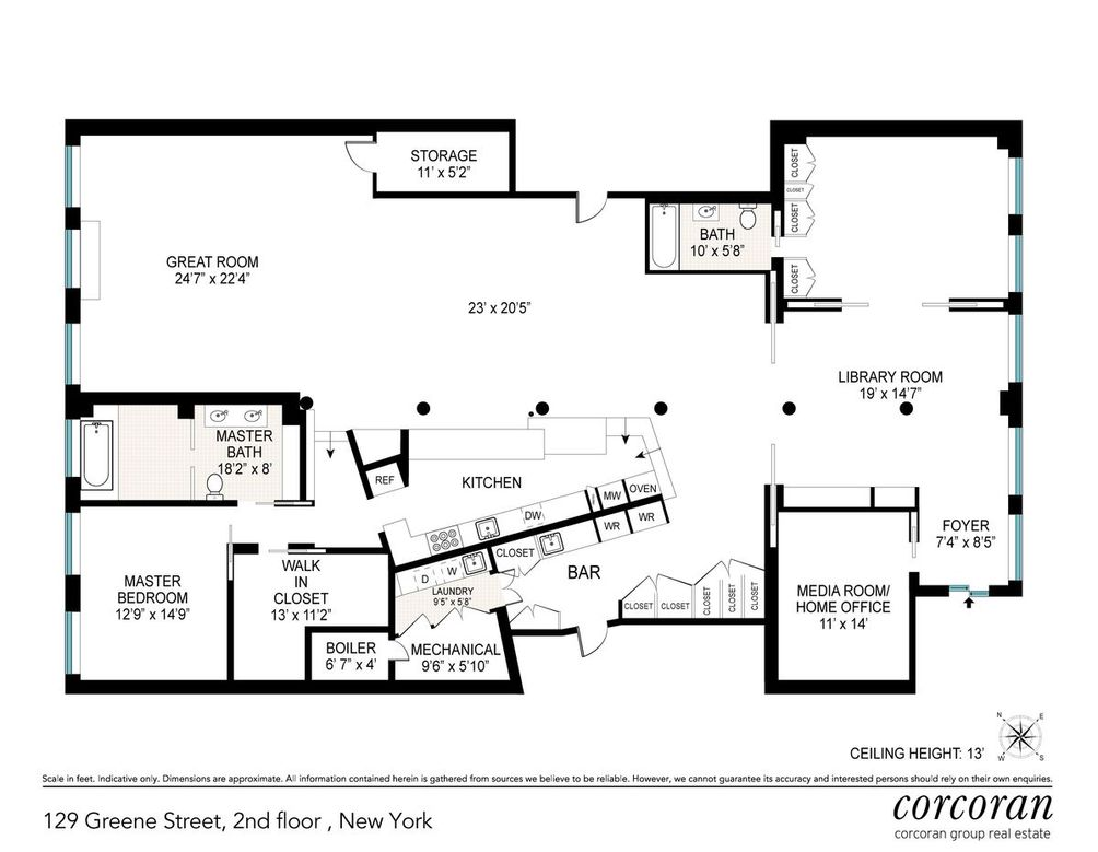 New To The Market Ten Stunning Downtown Loft Condos Listed Last Week Cityrealty