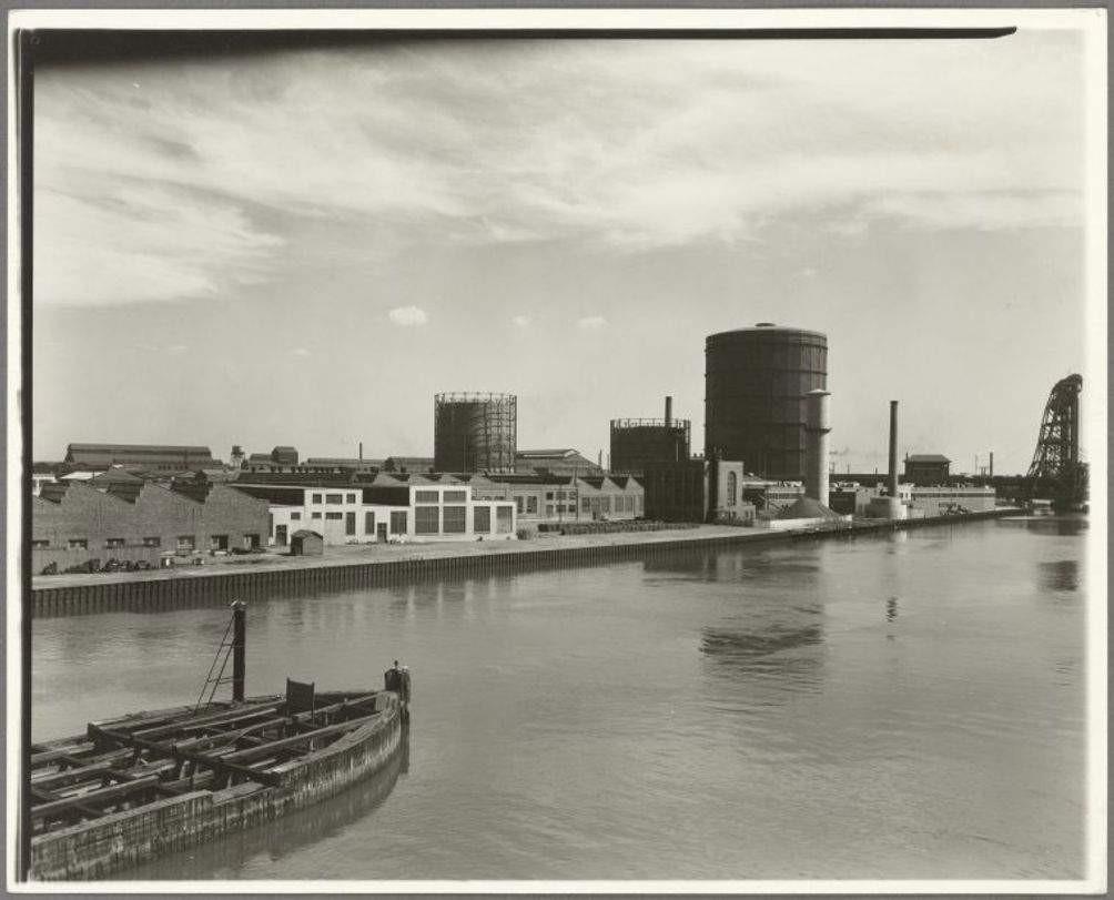 Newtown Creek in the early 20th century