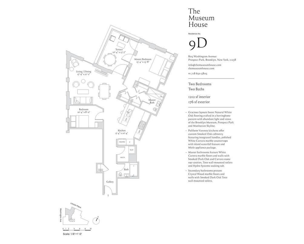 Museum House floor plan