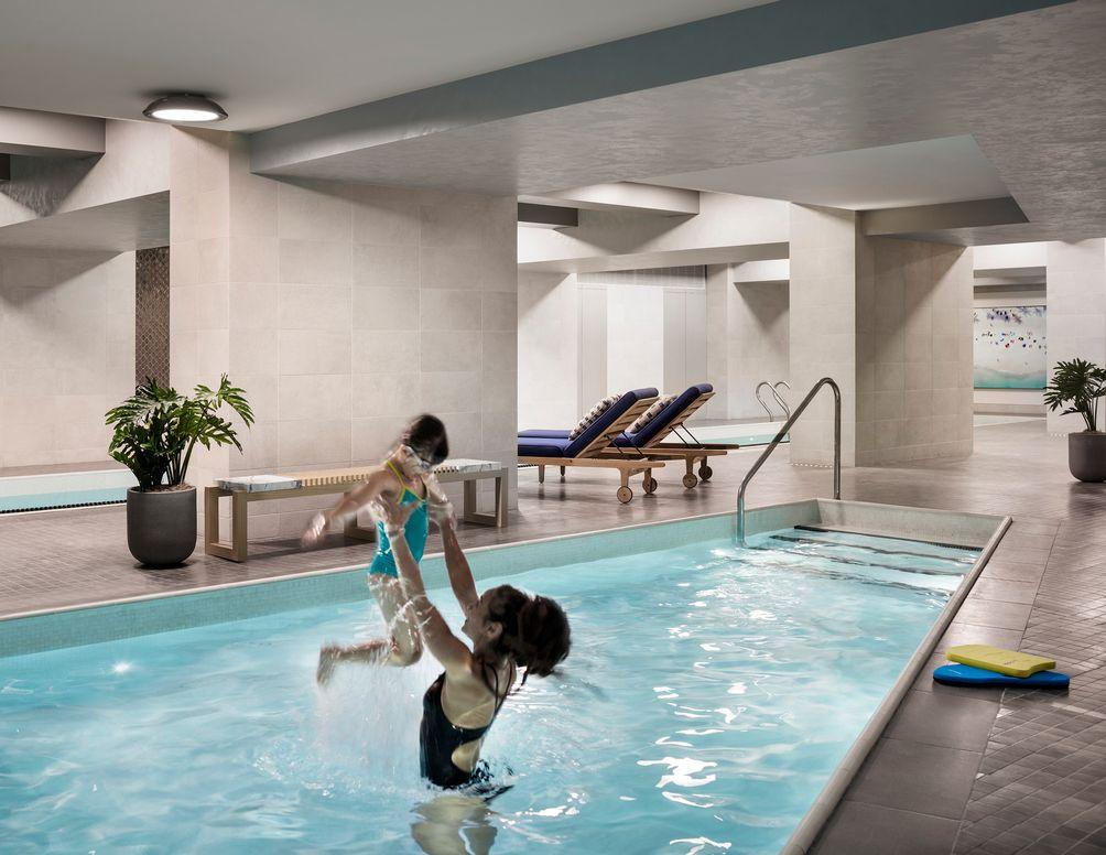 100 Barclay swiming pool