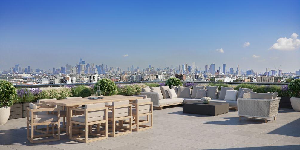 Marin Architects Brooklyn skyline