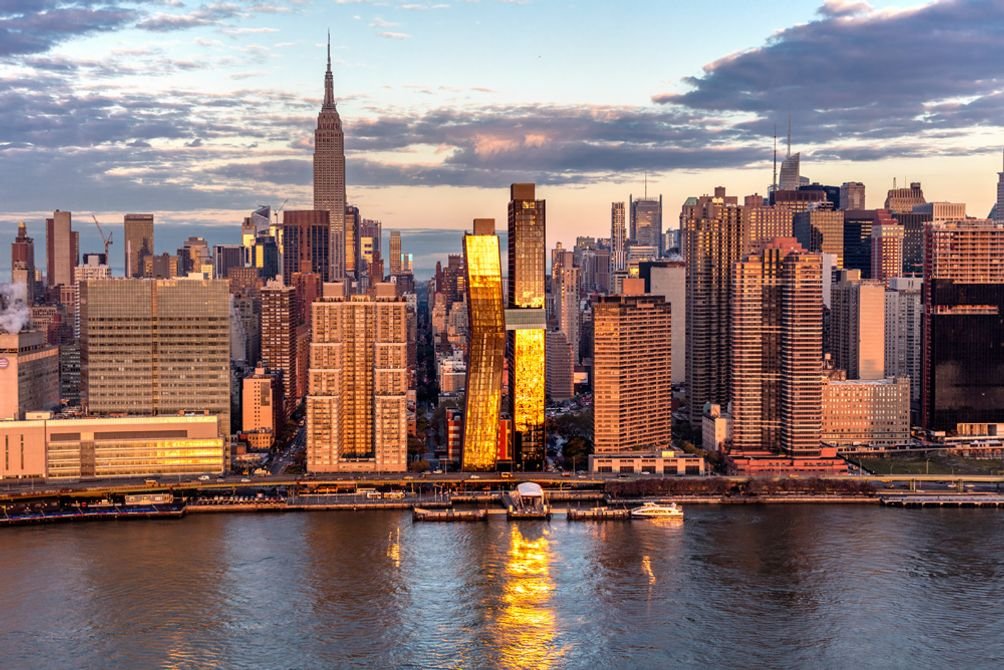 Midtown East including the American Copper Buildings