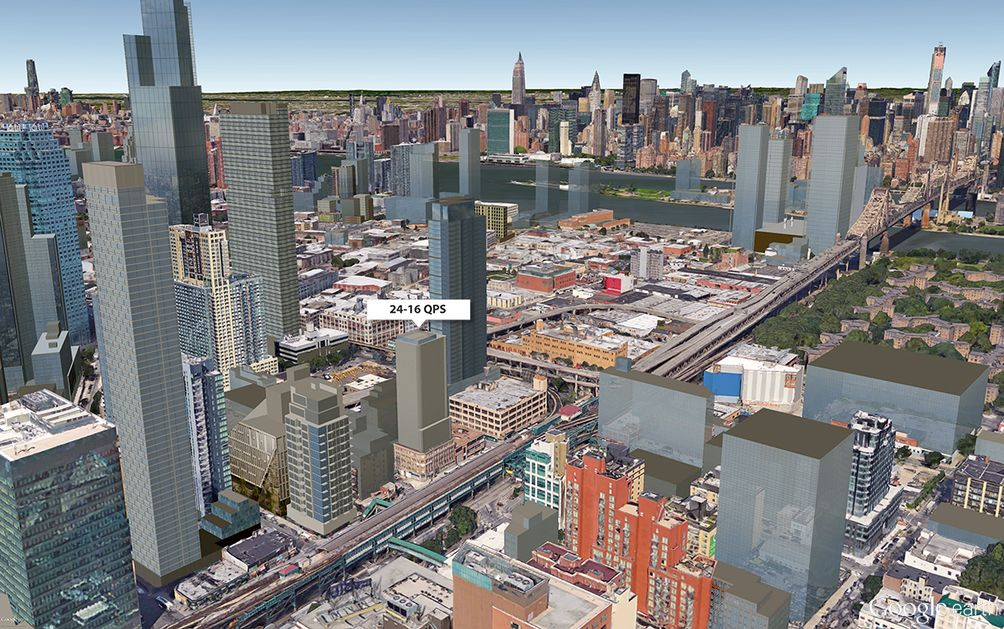 24-16 Queens Plaza South map