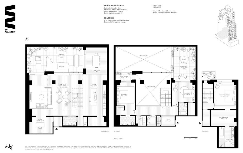 12 Warren Street #THN floor plan