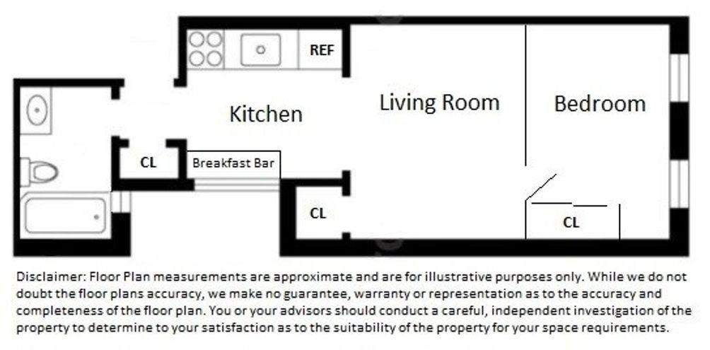 343 East 51st Street #4F floor plan