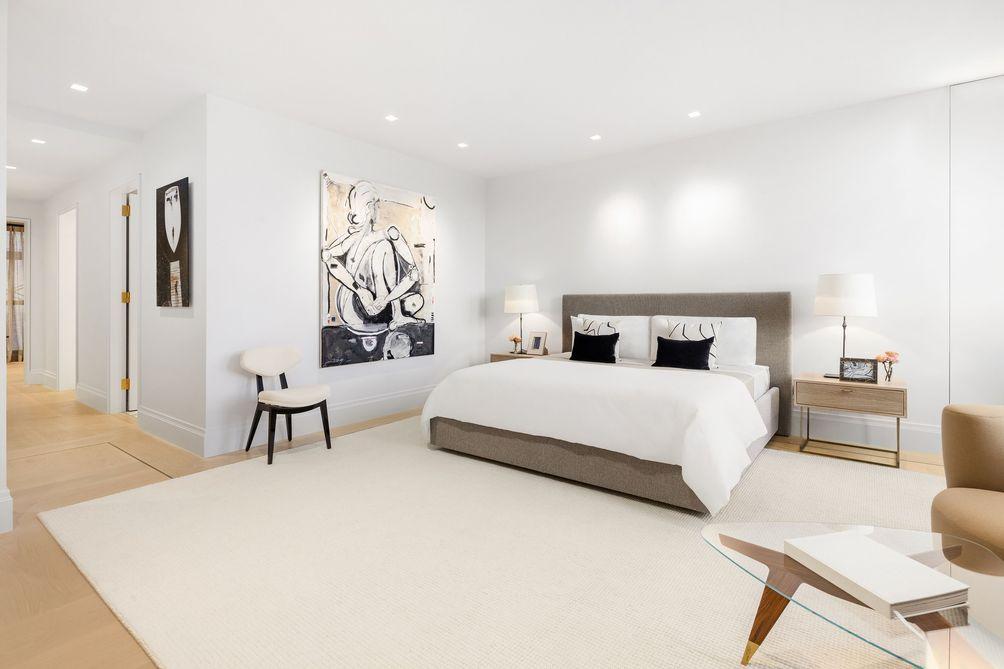 Porter House bedroom