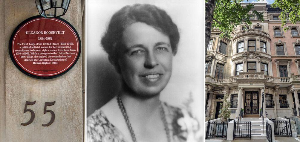 Eleanor Roosevelt Manhattan apartment