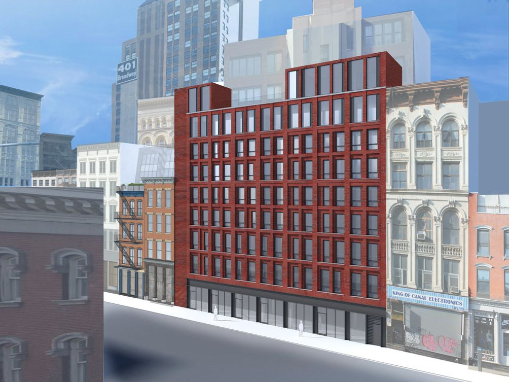 312-322 Canal Street, Tribeca, Rendering