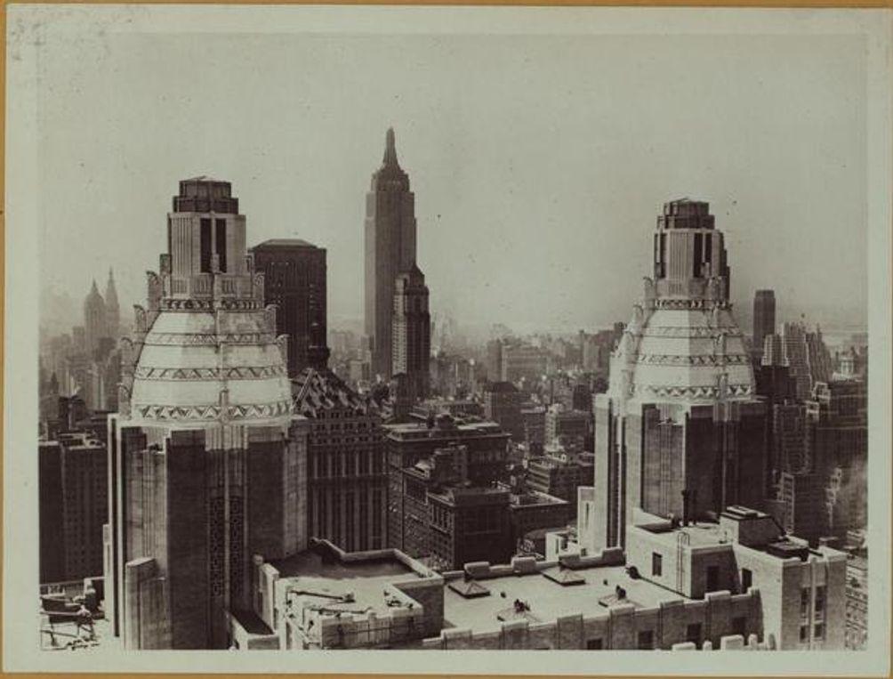Domes, Waldorf-Astoria Hotel, Underwood & Underwood, NYPL