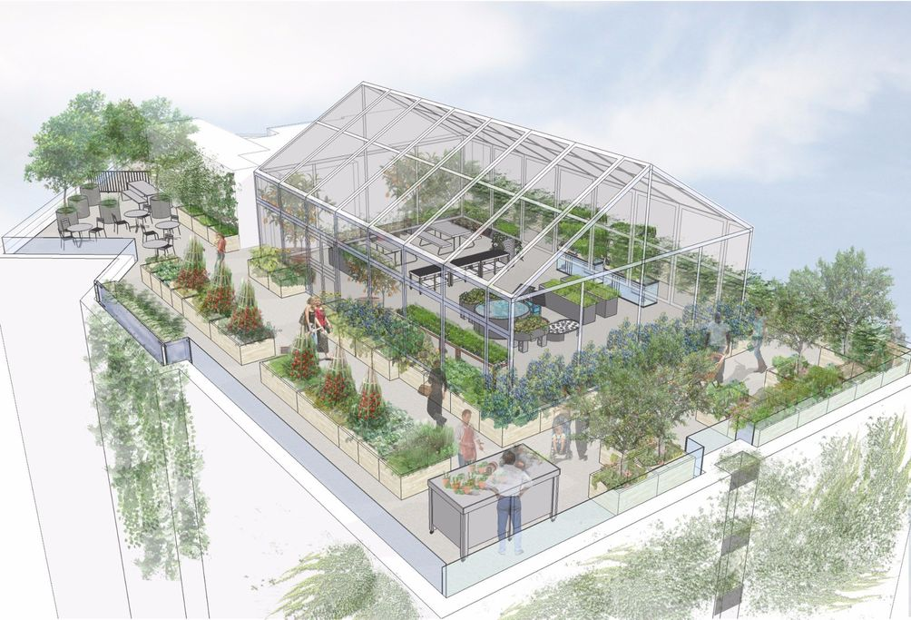 Bedford Green House, 2865 Creston Avenue, Edelman Sultan Knox Wood Architects, Project Renewal, Billie cohen LTD Landscape Design Studio, Bedford Park, Grand Concourse, Bronx, affordable housing