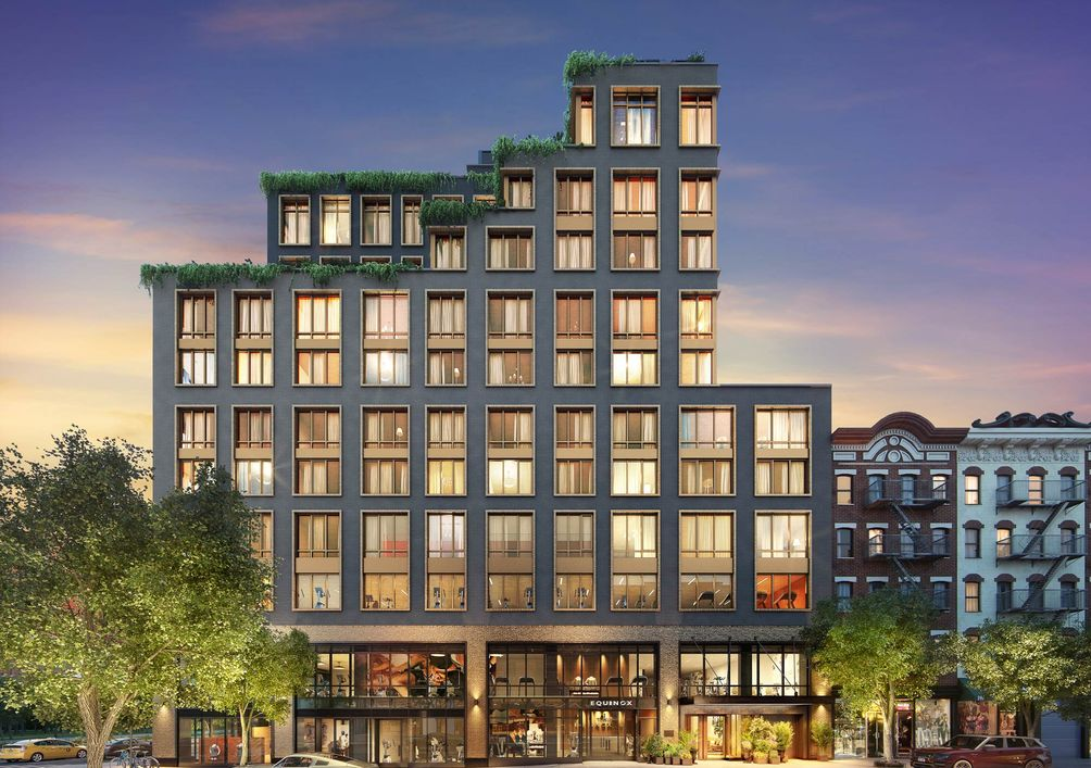 196 Orchard Street rendering