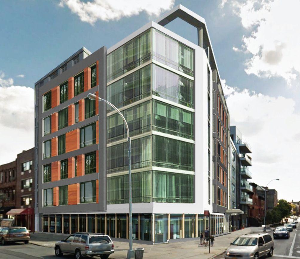 Rendering of 840 Fulton Street in Brooklyn