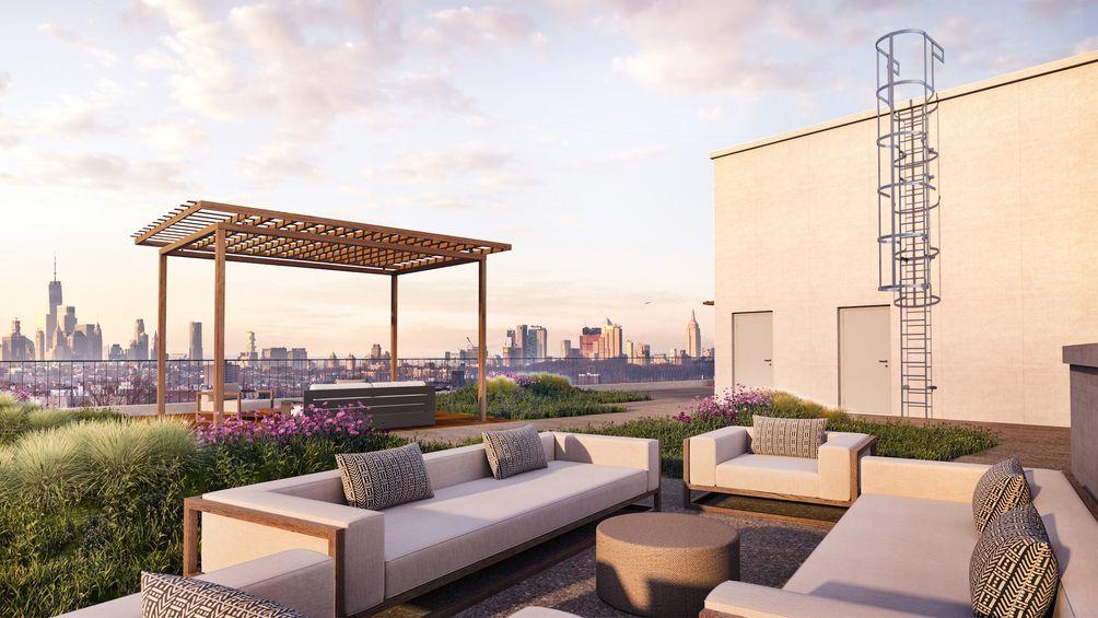 The Vitagraph, 1277 East 14th Street, Midwood, Brooklyn, rental, roof deck