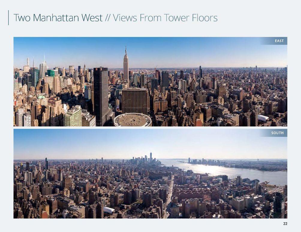 Midtown West views NYC