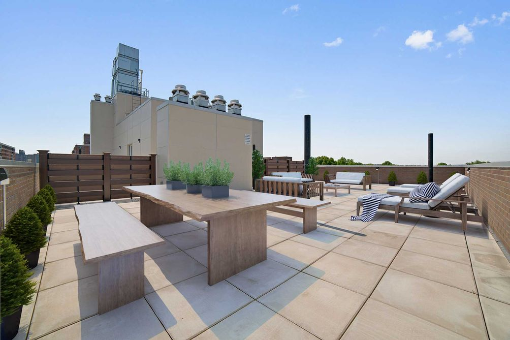 rooftop at The Pointe at 65-70 Austin Street in Rego Park