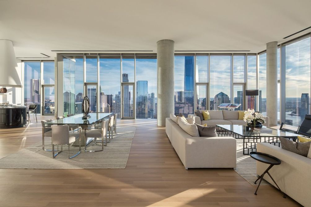 Mapping Nyc S Penthouses Inside Look At The Most
