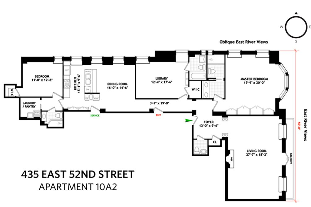 River House floor plan