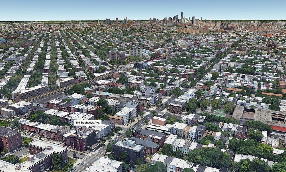 1404 Bushwick Avenue aerial