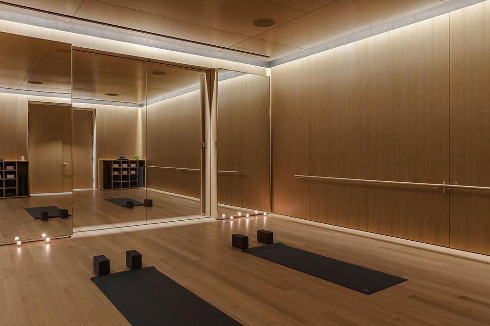 53 West 53rd Street yoga studio