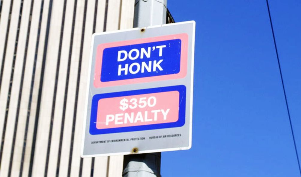 dont honk
