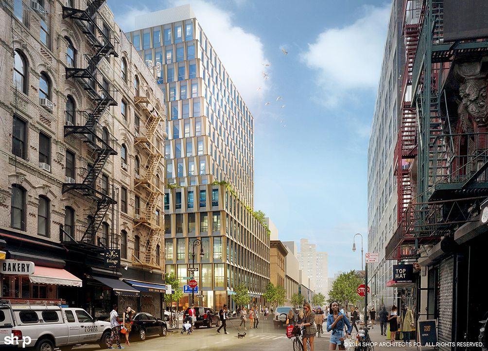 SHoP Architects, Lower East Side Developments, downtown construction