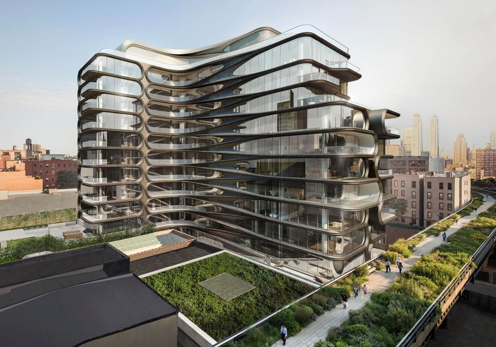 Trade Center And The Baccarat Hotel Residences Among Many Other Top Buildings Below Are Some Standout Residential Designed By Women