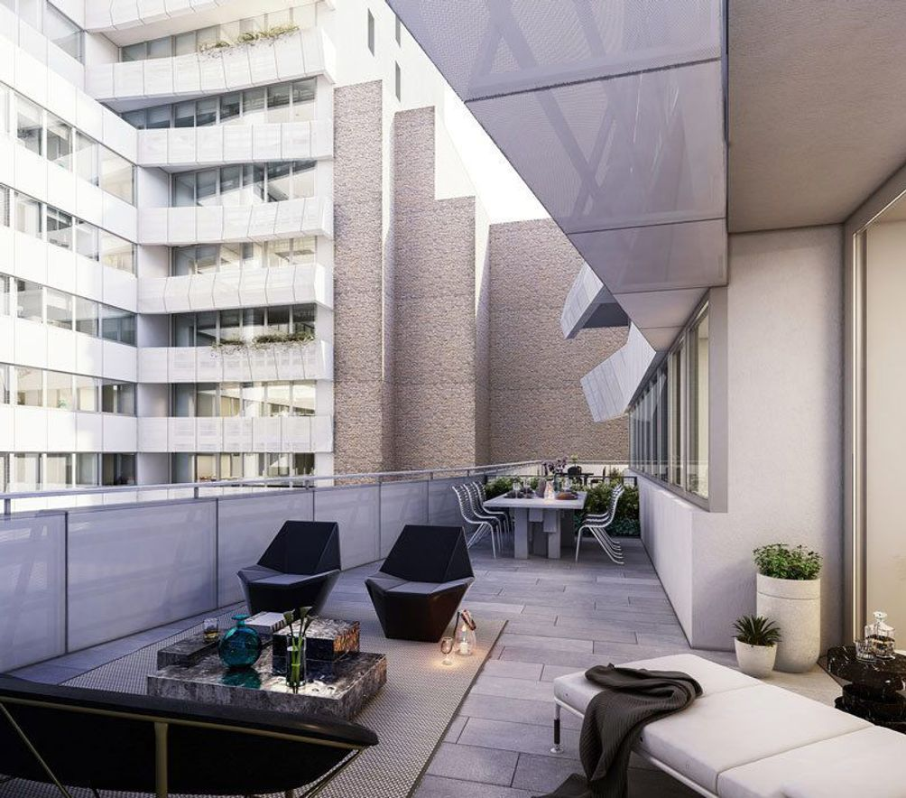 121 East 22nd Street outdoor space