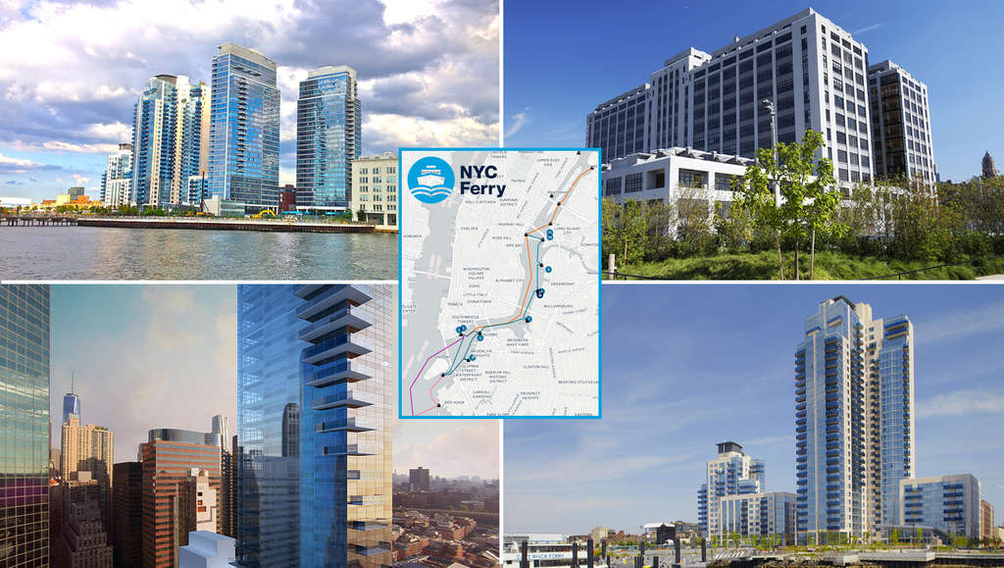 Top 10 New Condo Buildings Most Convenient to NYC Ferry