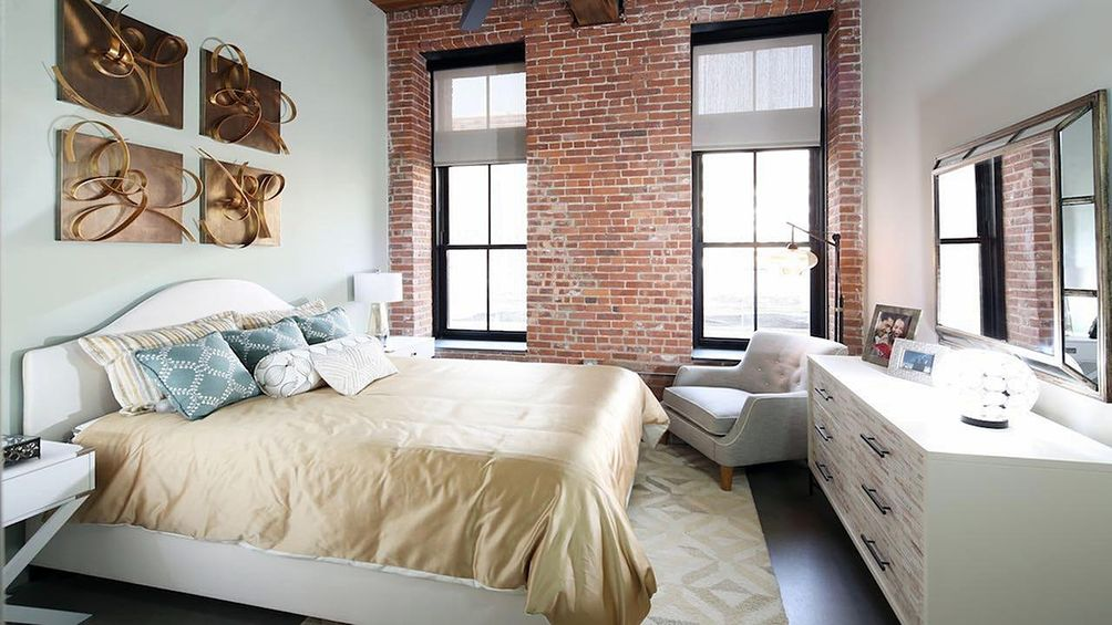 Apartments Have Exposed Brick And Other Rustic Features Image Via Moderalofts