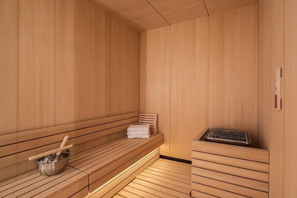 53 West 53rd Street sauna