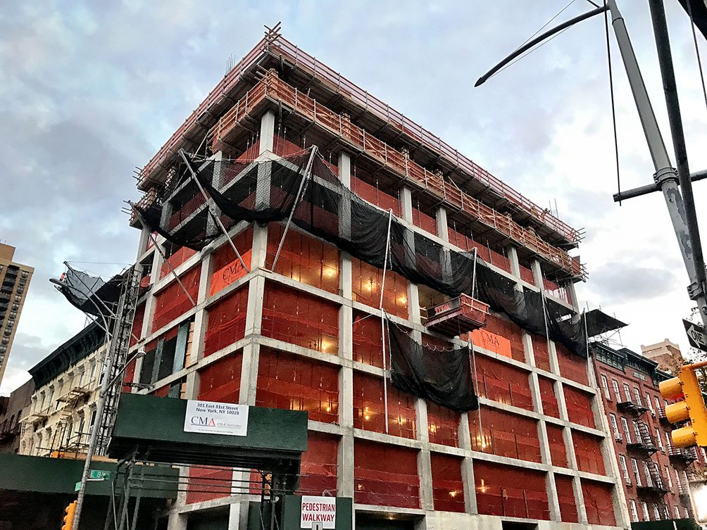 Icon Realty's Two Upper East Side Towers Begin Climb Above